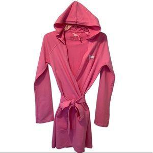 Victoria Secret Pink Cotton Robe with a Waist Tie